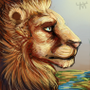 Lion Icon by Moors