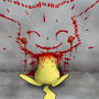 Bloody Pikachu by aaronfoe