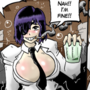 Himeno gets drunk (Chainsaw Man)