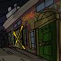 Alley Incident Art