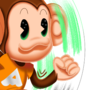 Rolling monkey