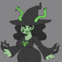 Snake witch doll comm