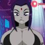 Raven Animation // Teen Titans