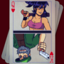 Dead Estate King And Queen Card