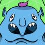 Blue Clown Ghoul