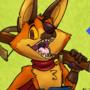 Dingo's art and games: fox kid