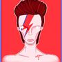David Bowie by Mosamabindrawin