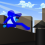 Oxob doing parkour by oxob3000