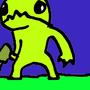 alien hominid in uglyland by KraketLoser
