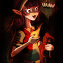 Teen Annie and Tibbers