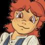 Athena, comic style
