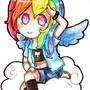 Rainbow Dash by Anim3xl0v3r