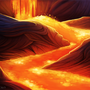 Lava Flow by Cryptid-Creations
