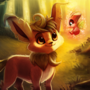 Leafeon by Cryptid-Creations
