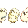 A Line of Mutated Hammies by TuxedoHamper