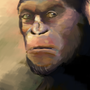 Ceasar of the apes by invaderdesign