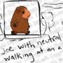 16-Bit Joe Walk Animation by WaldFlieger