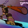 TMNT 2012 Donatello Poster by Mazzodan