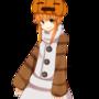 snow golem girl (minecraft) by 1stcutered
