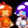 Cookie Run OCs - Pyro Berry and Feri Berry