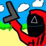 Squidgame triangle guard