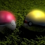 Pokéball and GS Ball by ScottCanDraw