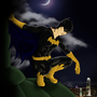 Batgirl by Jo-Holding