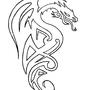 Dragon - tattoo design by Jo-Holding