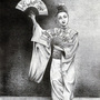 Dancing geisha by dzozeppe
