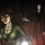 You can't run from Slender Man by Jazza