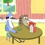 Regular Show - Cereal Colored by 123mine123