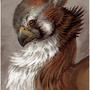Gryphon Portrait by Seenya