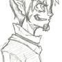 Kazu sketch by Ba-Yo