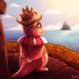 Slowking by Cryptid-Creations