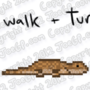16-Bit Lizard Walk and Turn