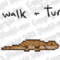 16-Bit Lizard Walk and Turn