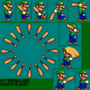 Baseball Bat Luigi by 1999Elias