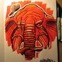 Phat Elephant by MACHINA-3014
