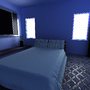 A bedroom by SkillZombie