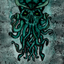 Cthulhu Water Color by Chadoside