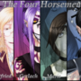 The Four Horseman by Clodiuth-Matrix