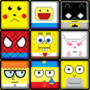 Cartoons/heroes, pixel style by NARVAL