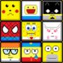 Cartoons/heroes, pixel style