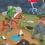 Zelda Horse Battle by kalabor106