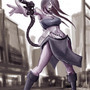 Zombie machine gun girl 2 by FASSLAYER