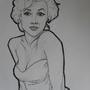 Marilyn Monroe by itsKris