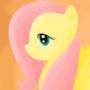 Fluttershy en Profile by Lympha