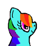 rainbow dash by nogirl70