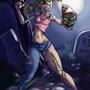 zombie girls seem strangely se by Nerdbayne