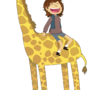 Giraffe Ride by ZeTrystan